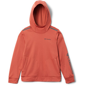 Columbia Tech Trek Sudadera Niños, carnelian red